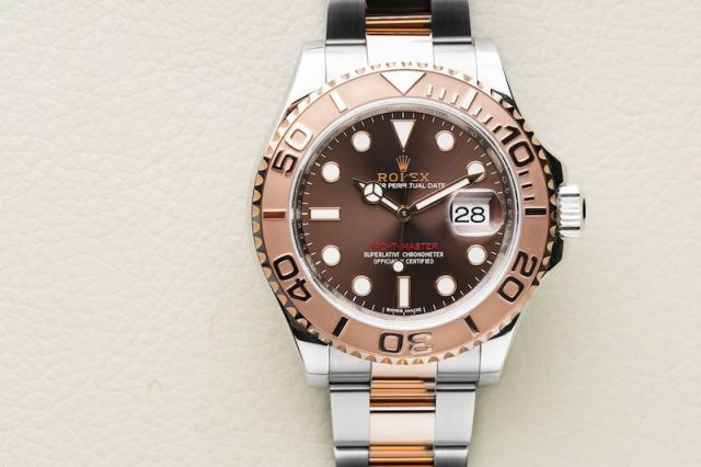Rolex Yachtmaster two-tone