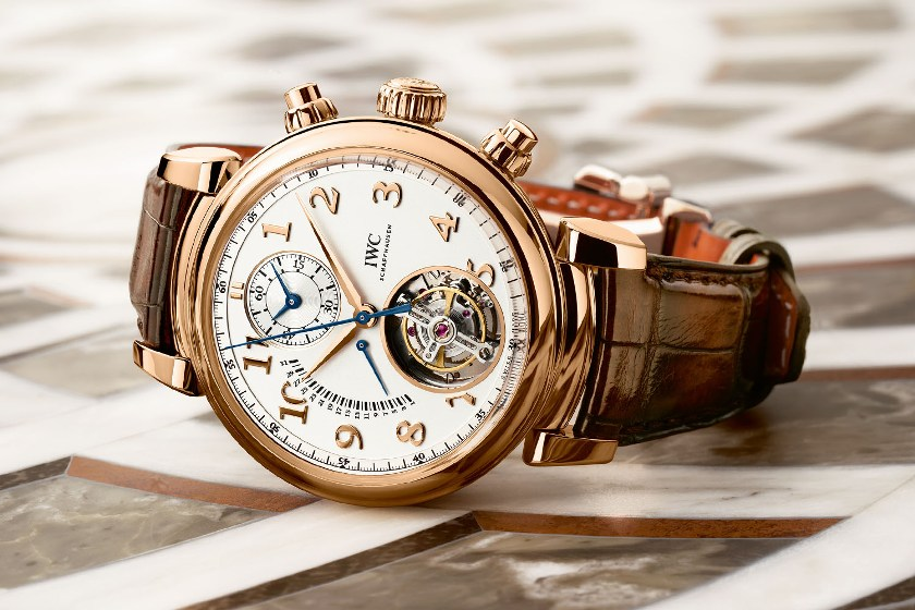 IWC-Da-Vinci-Tourbillon Retrograde Chronograph