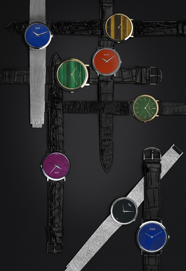 Pigaet vintage ultra-thin watches stone dials