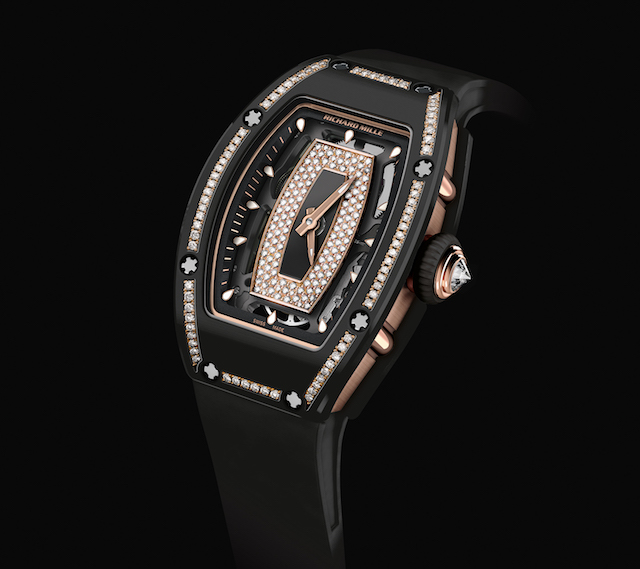 RM 07-01 Gem-Set Black Ceramic