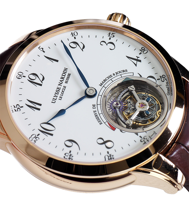 Новинка UN — Ulysse Anchor Tourbillon