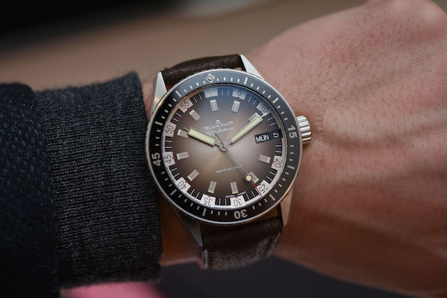 BLANCPAIN FIFTY FATHOMS BATHYSCAPHE DAY-DATE 70S