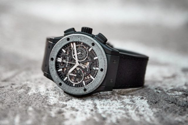 Hublot Classic Fusion Aerofusion Chronograph Concrete Jungle
