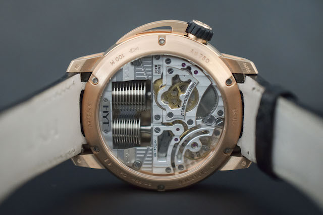 HYT Skull rose gold