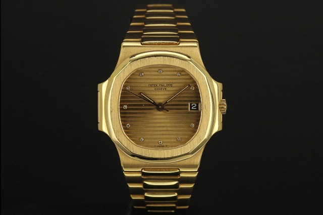 Nautilus 3800 gold diamonds