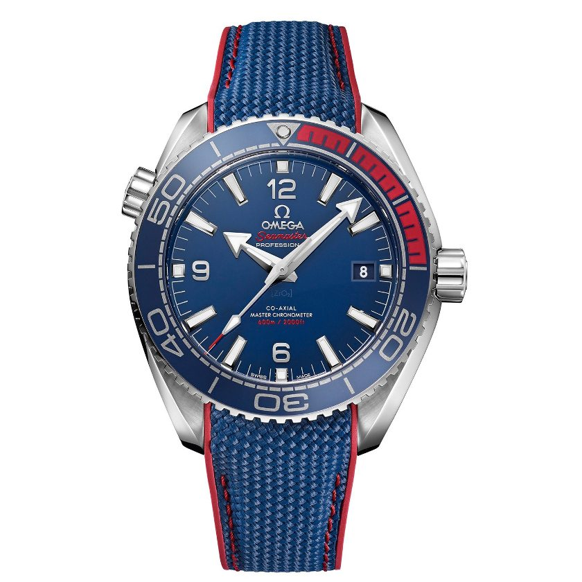 The Omega the Seamaster Planet Ocean PyeongChang 2018 Limited Edition