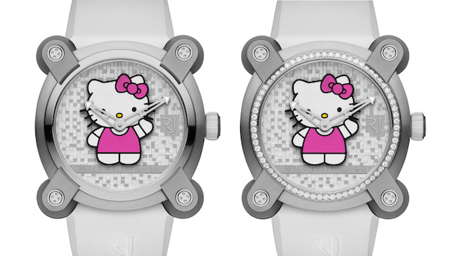часы romain Jerome hello Kitty