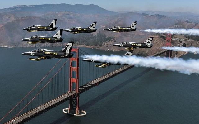 Breitling Jet Team San-Francisco American Tour