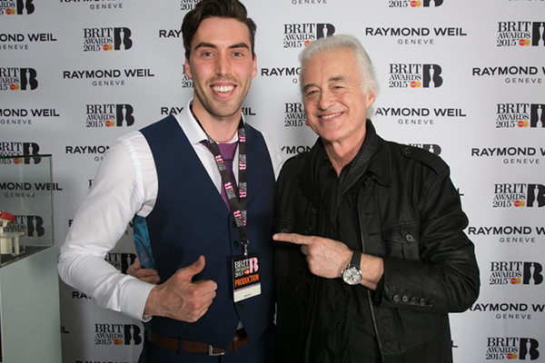 Raymond Weil и BRIT Awards вместе 10 лет