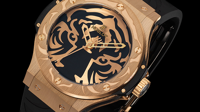 Hublot and Black Jaguar – White Tiger