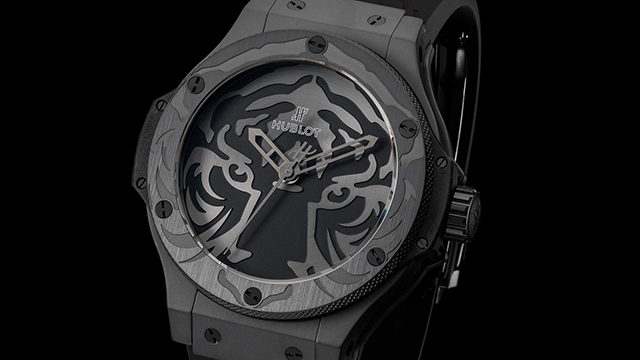 Hublot and Black Jaguar White Tiger