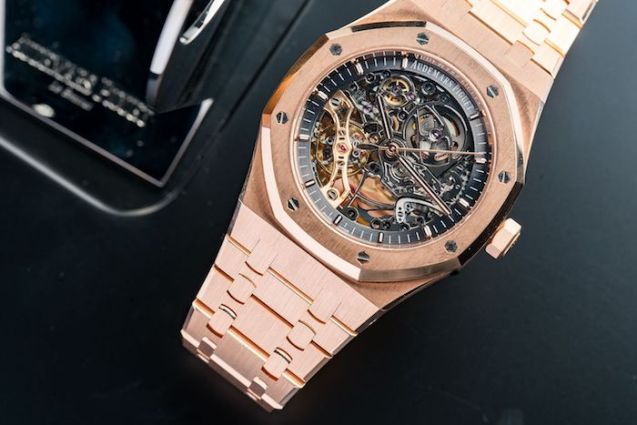 Audemars Piguet Royal Oak Skeleton Rose gold
