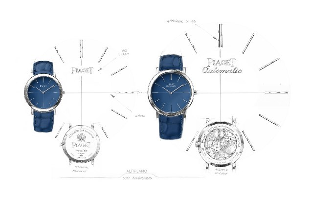 Piaget Altiplano 60th Anniversary Collection sketch