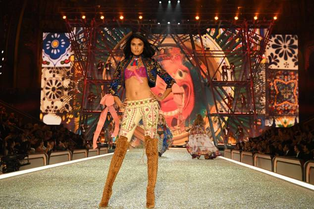 Daniela Braga walks the runway during the 2016 Victoria's Secret Fashion Show