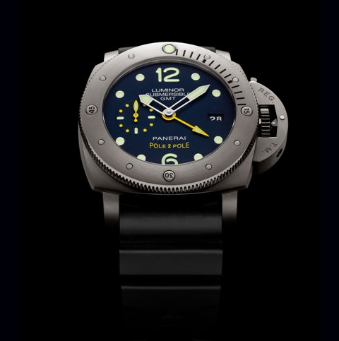 Panerai Luminor Submersible 1950 GMT Mike Horn