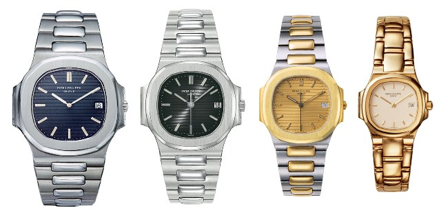 Patek Philippe Nautilus 1980s collection 3700 3800 3900 4700