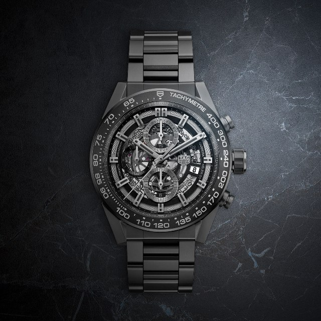 TAG Heuer Carrera Heuer-01 black ceramic