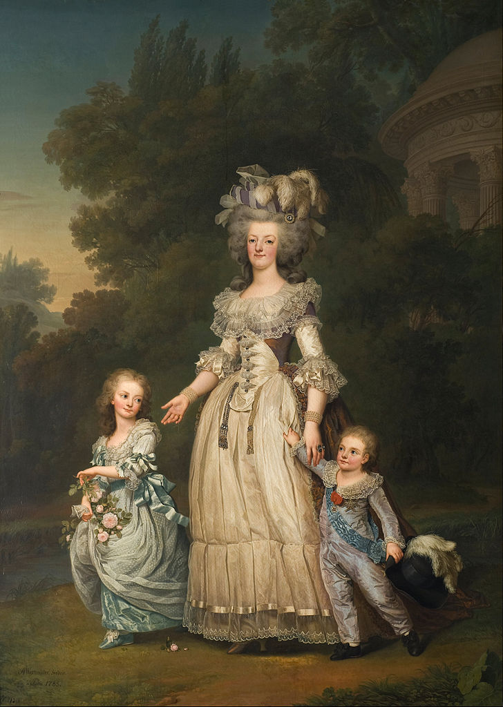 Adolf_Ulrik_Wertmuller_-_Queen_Marie_Antoinette_of_France_and_two_of_her_Children_Walking_in_The_Park_of_Trianon.jpg