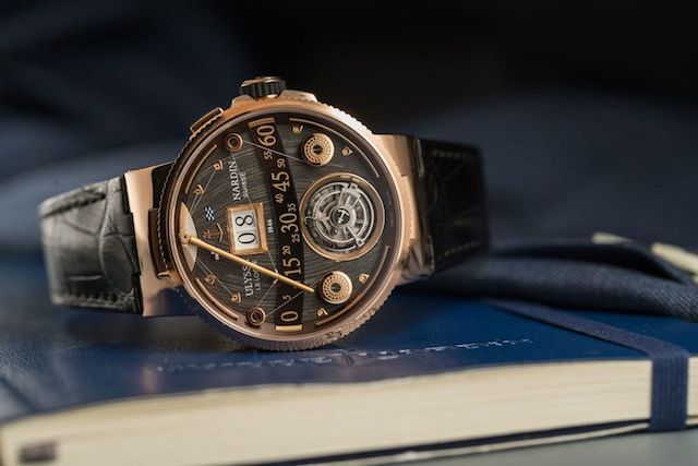 Ulysse Nardin Marine Grand Deck Tourbillon в розовом золоте