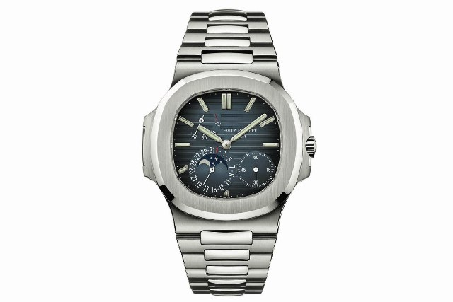 Patek Nautilus 5712-1A moon-and-date