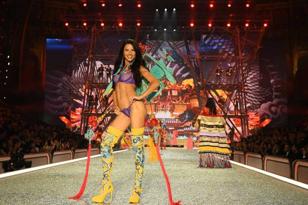 Adriana Lima walks the runway during the 2016 Victoria's Secret Fashion Show