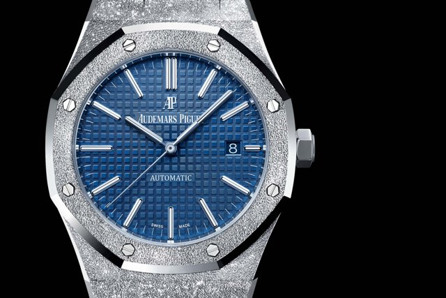 audemars piguet frosted gold royal oak