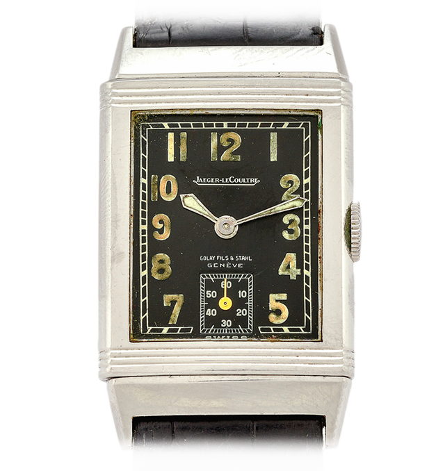 Часы Дугласа Макартура - Jaeger LeCoultre Early Steel Reverso Ref. 201