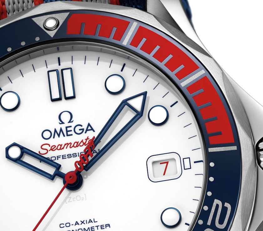 omega commander watch dial