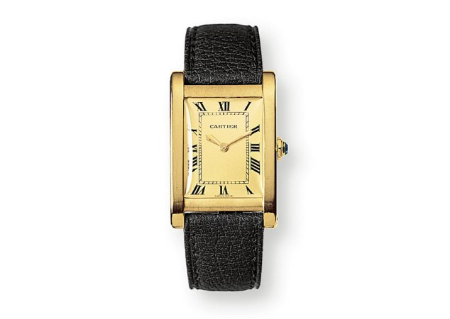 Cartier Tank Rectangle Broad