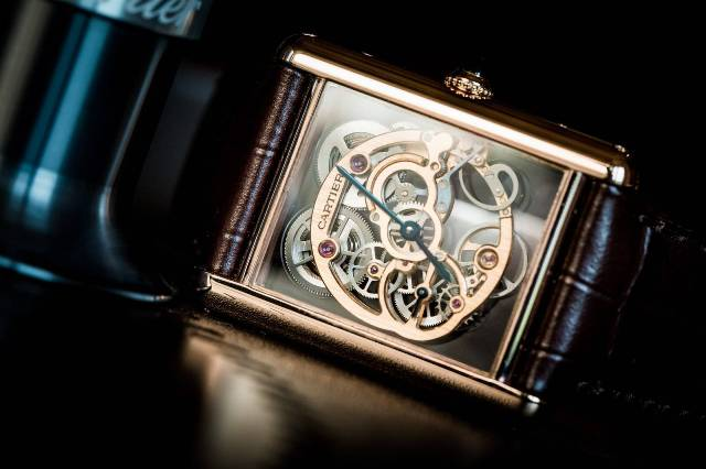Cartier Tank Louis Cartier Skeleton