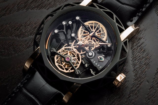 Graff MasterGraff Structural Tourbillon Skeleton