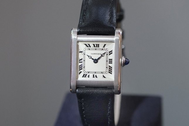 A very early Cartier Tank