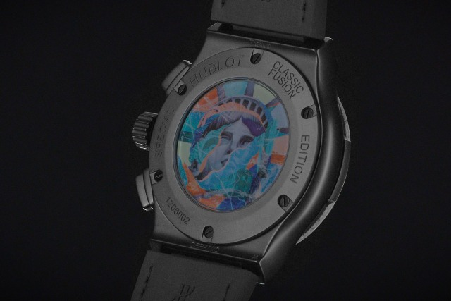 statue of liberty head hublot