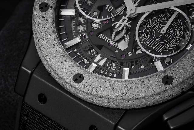 Hublot Classic Fusion Aerofusion Chronograph Concrete Jungle dial