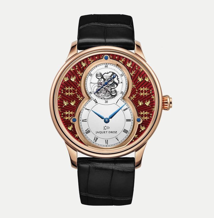 Jaquet Droz Grande Seconde Tourbillon Paillonnee