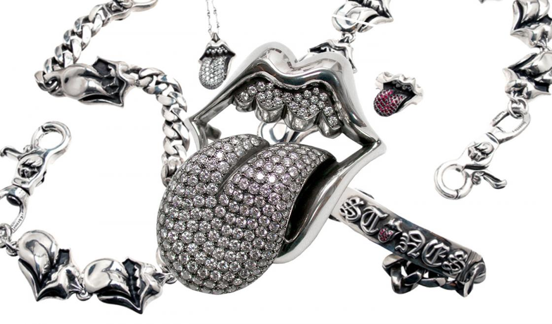Rolling Stones feat Chrome Hearts