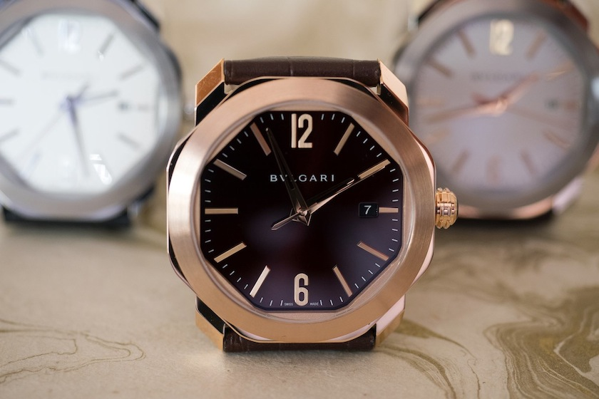 Bulgari Octo Roma in rose gold