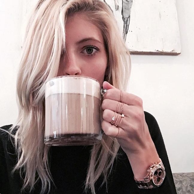 Devon Windsor wearing her Eversrose Daytona