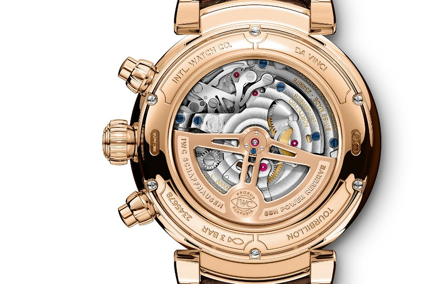 IWC Da-Vinci Tourbillon Retrograde Chronograph
