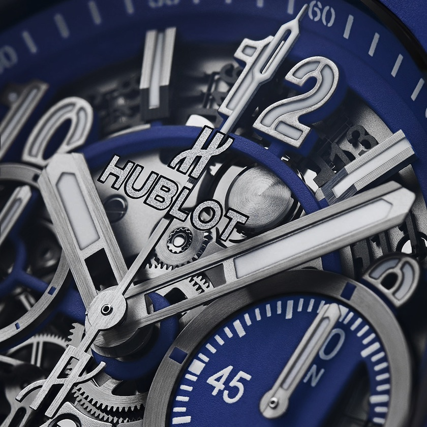 Hublot Big Bang Blue циферблат