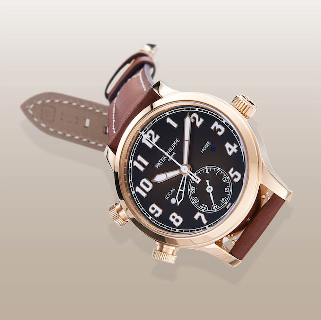 Patek Philippe Pilot Travel Time 5524 rose gold