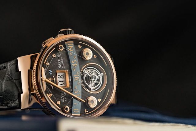Ulysse Nardin Marine Grand Deck Tourbillon rose gold