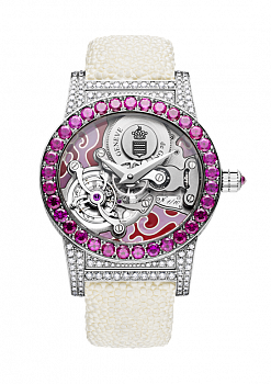 Tourbillon Gioiello with Diamonds and Rubies